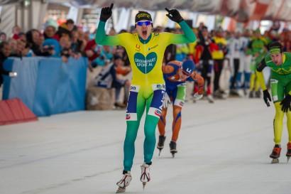 Thom van Beek wint kampioenschap van Kralingen.